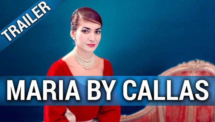 Maria by Callas - Trailer Poster