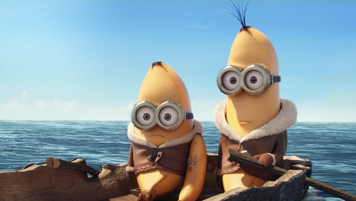 Minions (3D) - Trailer Poster