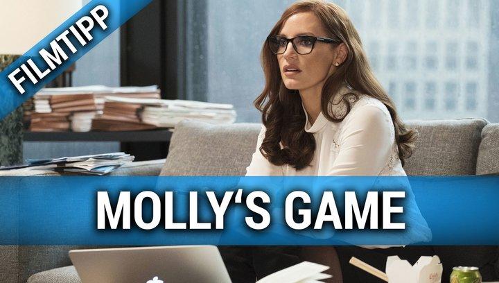 Mollys Game - Filmtipp Poster