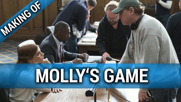 Mollys Game - Making Of (Mini) Poster