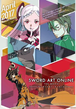Sword Art Online - Ordinal Scale Poster