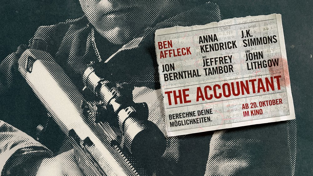 The Accountant Poster