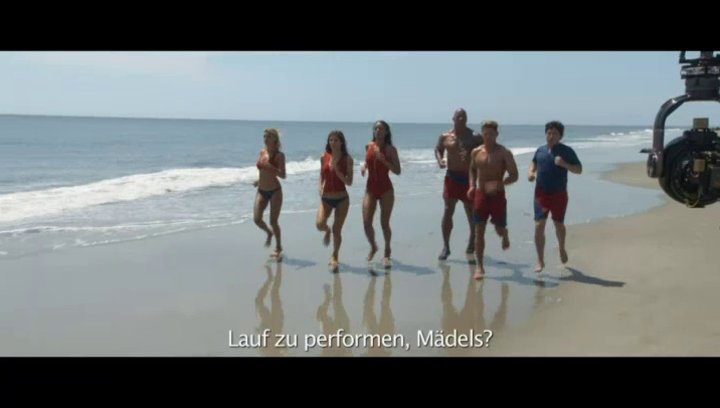 Baywatch - SlowMo - Featurette Poster