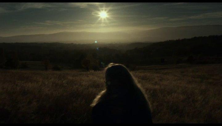 Sonnenaufgang Hund - Szene Poster