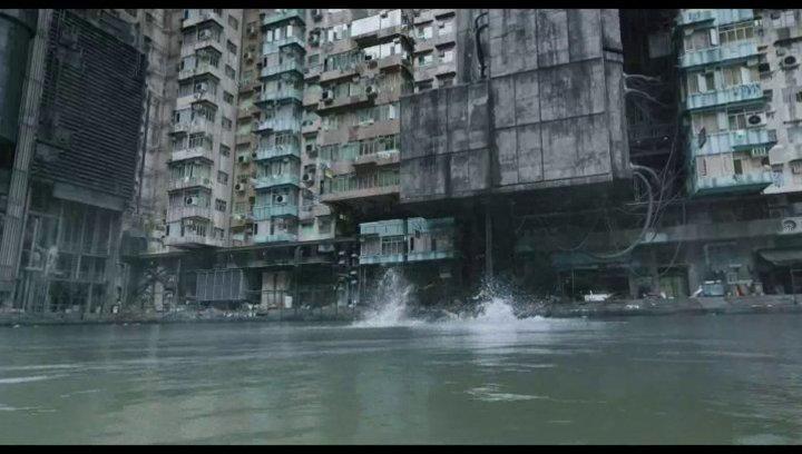 Kampf im Wasser - Szene Poster