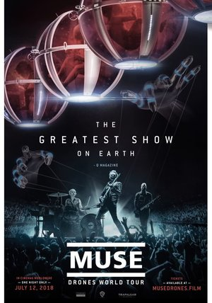 Muse: Drones World Tour Poster