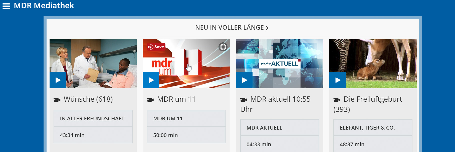 Mdr Mediathek Sendung Verpasst So Seht Ihr Sie Online Kinode