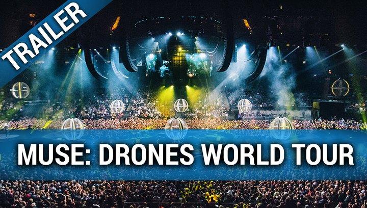 Muse: Drones World Tour - Trailer Englisch Poster