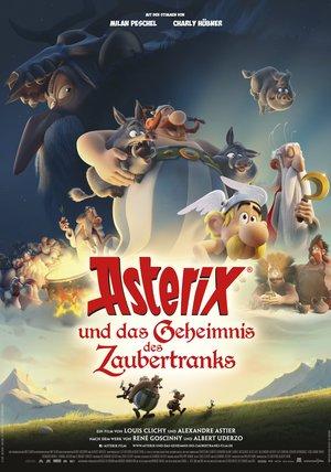 Plakat: ASTERIX UND DAS GEHEIMNIS DES ZAUBERTRANKS