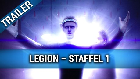Legion Staffel 1 DVD/Blu-ray & Download Trailer Deutsch Poster