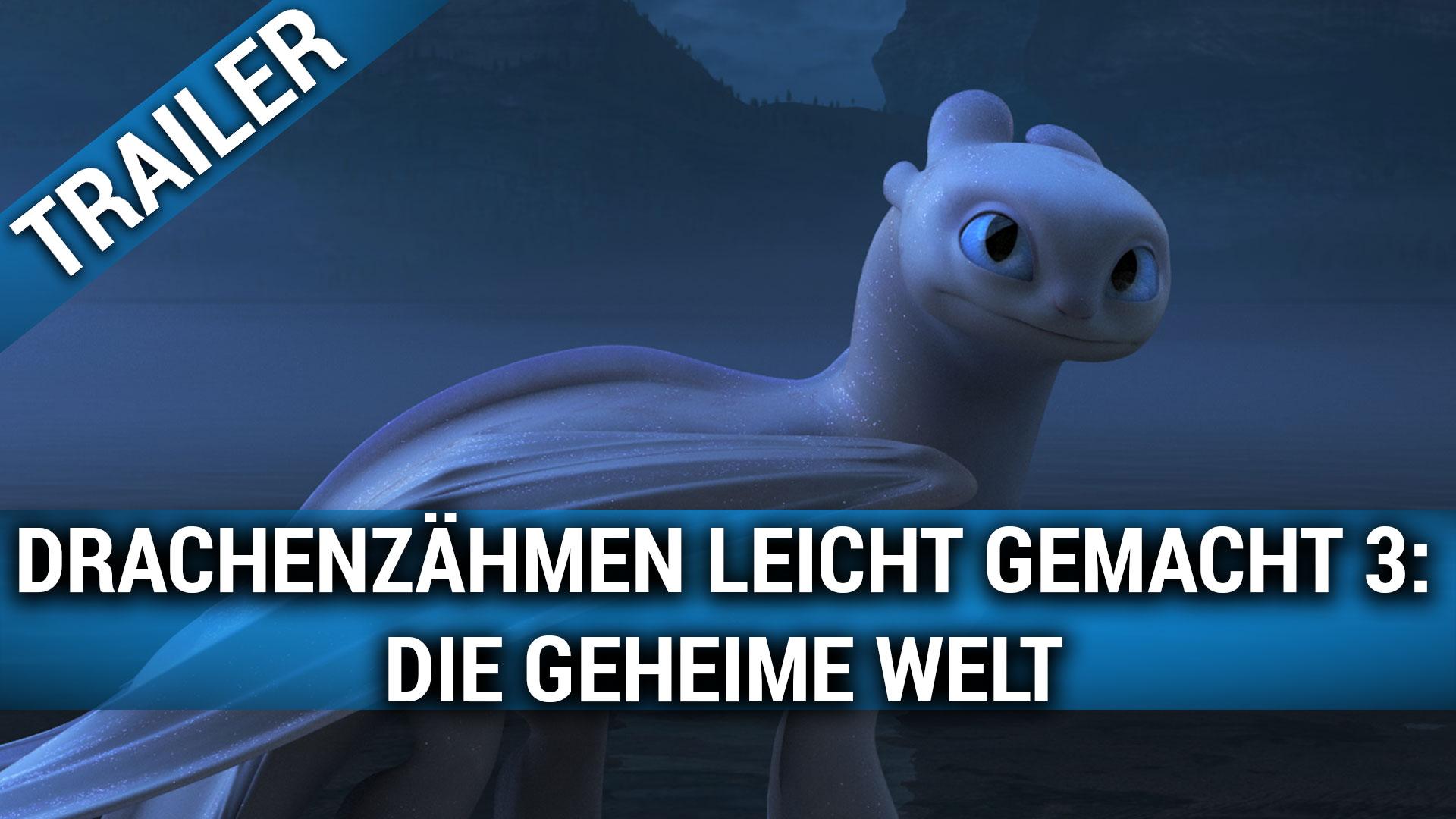 Drachenzähmen leicht gemacht 3: Die geheime Welt Film (2019 ...