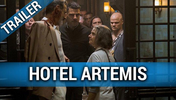 Hotel Artemis - Trailer Deutsch Poster