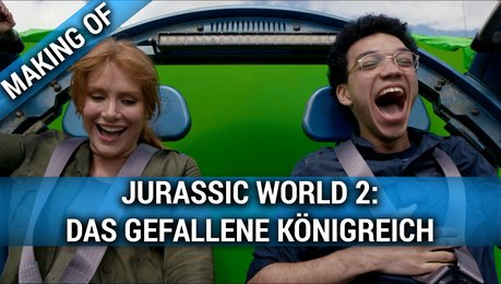 Jurassic World 2 - Das Gefallene Königreich - Making Of (Mini) Poster