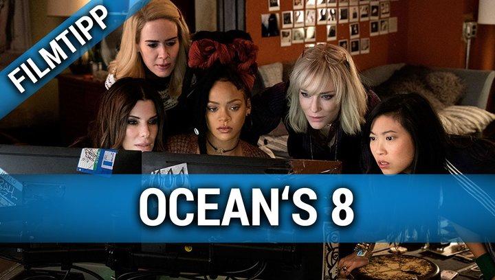 Filmtipp Ocean's 8 - Filmtipp Poster