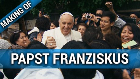Papst Franziskus - Making Of (Mini) Poster