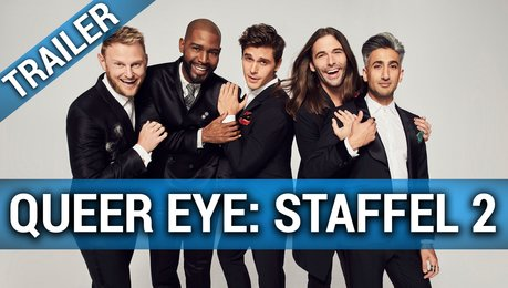 Queer Eye (Netflix) - Staffel 2 - Trailer Deutsch Poster