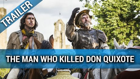 The Man Who Killed Don Quixote - Trailer Deutsch Poster