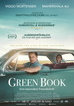 Plakat: GREEN BOOK