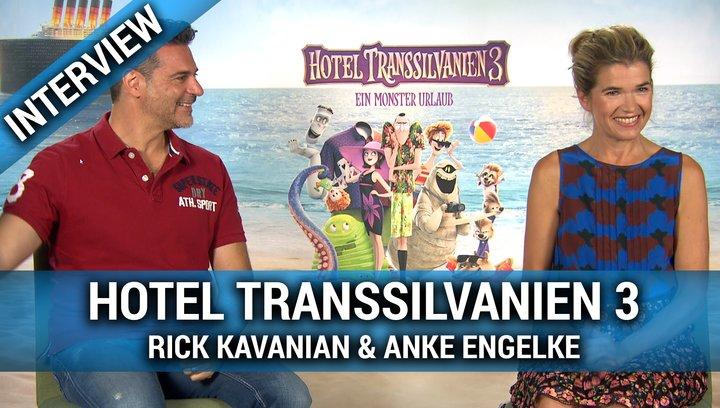 HOTEL TRANSSILVANIEN 3 - Interview mit Rick Kavanian und Anke Engelke Poster