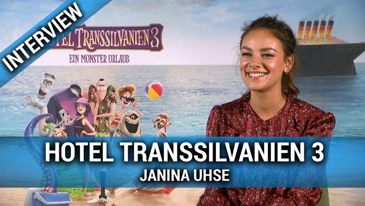 HOTEL TRANSSILVANIEN 3 - Interview mit Janina Uhse Poster
