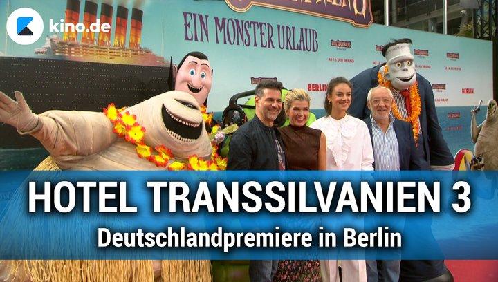 HOTEL TRANSSILVANIEN 3 - Deutschlandpremiere in Berlin Poster
