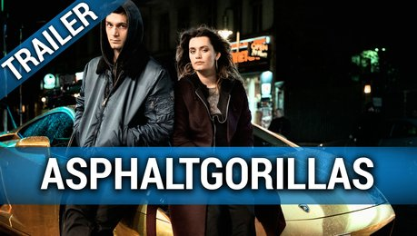 Asphaltgorillas - Trailer Deutsch Poster