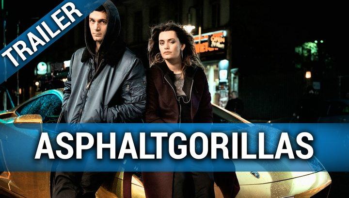 Asphaltgorillas - Trailer Deutsch Poster