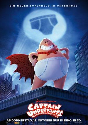 Captain Underpants - Der supertolle erste Film Poster