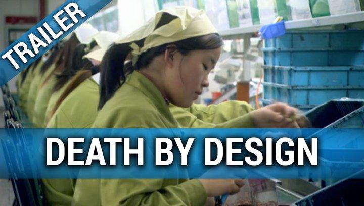 Death by Design - Trailer Deutsch Poster