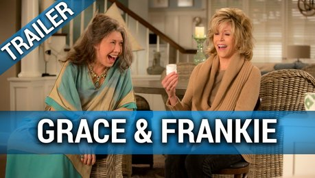 Grace & Frankie (Netflix) - Trailer Staffel 1 Deutsch Poster