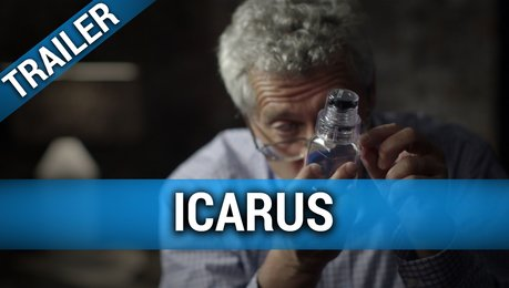 Icarus - Trailer Englisch Poster