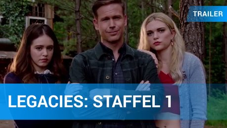 Legacies - Staffel 1 - SDCC-Trailer Englisch Poster