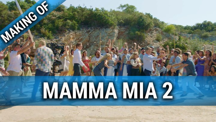 Mamma Mia 2 - Here We Go Again - Making Of (Mini) Poster