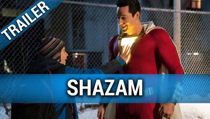 Shazam - Trailer Englisch SDCC Poster