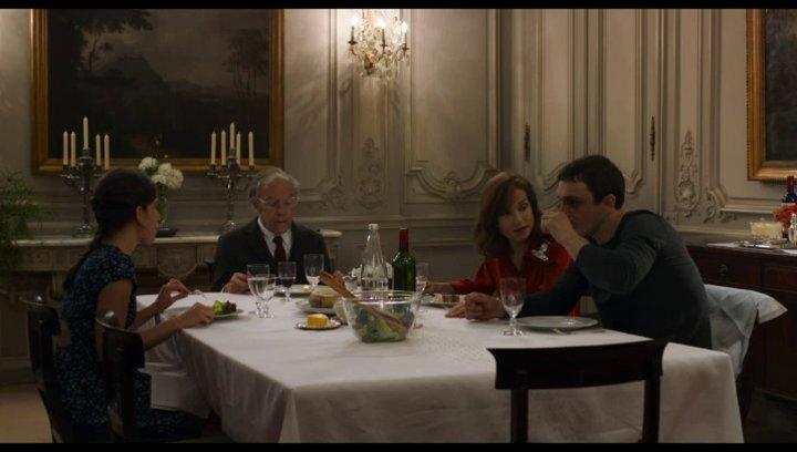 Anne und Pierre im Gespräch - Szene Poster