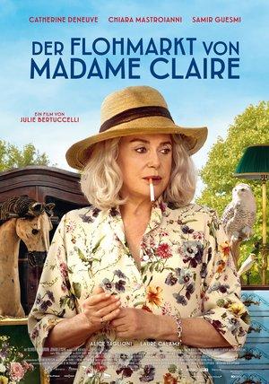 Plakat: DER FLOHMARKT DER MADAME CLAIRE