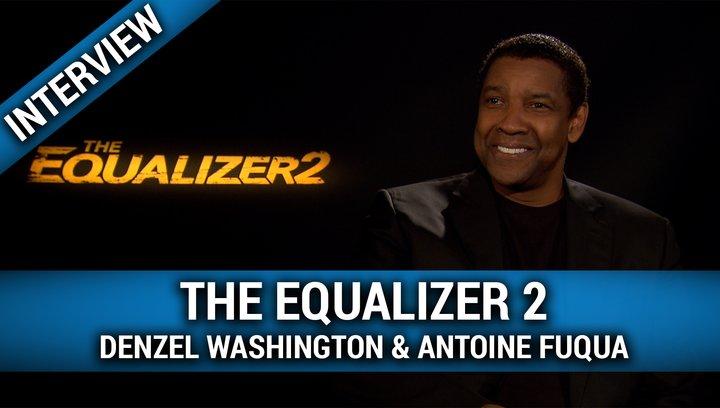 The Equalizer 2 - Interview mit Denzel Washington und Antoine Fuqua Poster