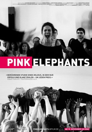 Pink Elephants Poster