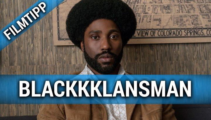 BlackKklansman - Filmtipp Poster