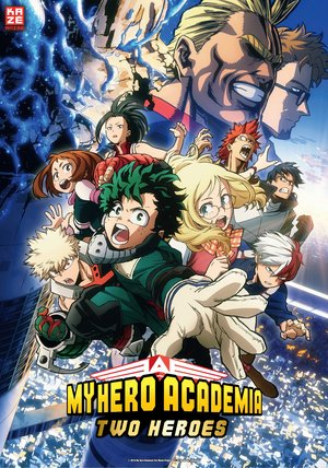 My Hero Academia: The Two Heroes Poster