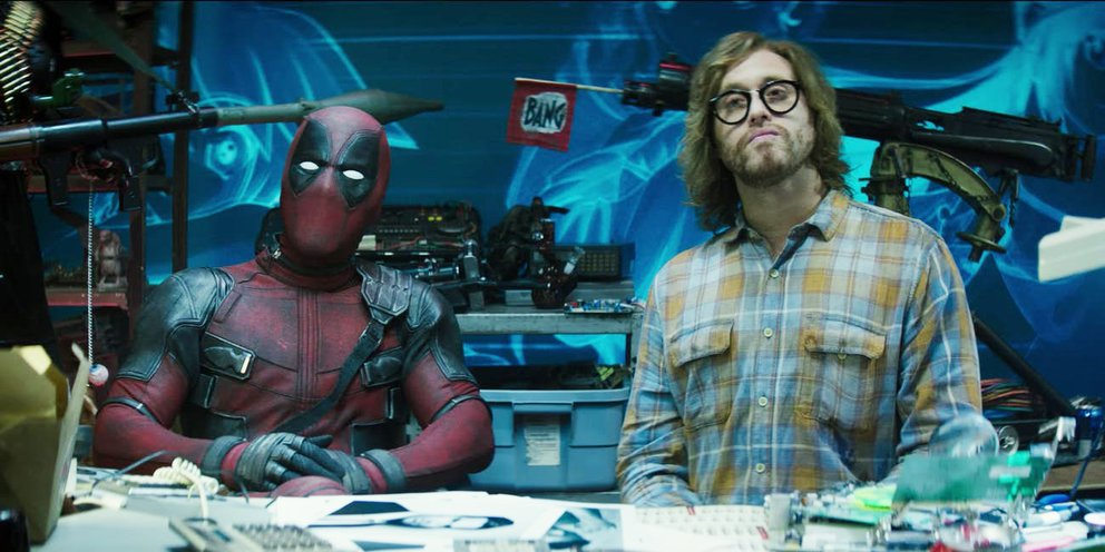 Deadpool 2 Ryan Reynolds T.J. Miller Weasel