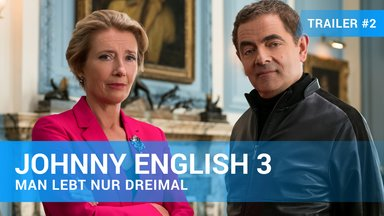 Johnny English 3 - Man lebt nur dreimal Trailer