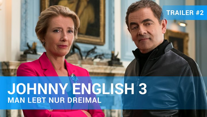 Johnny English 3 - Man lebt nur dreimal - Trailer #2 Deutsch Poster