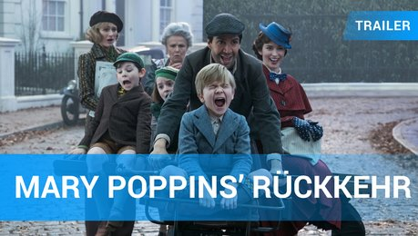 Mary Poppins' Rückkehr - Trailer Deutsch Poster