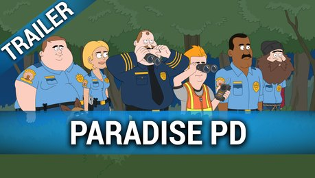 Paradise PD - Staffel 1 - Trailer Deutsch (Netflix) Poster