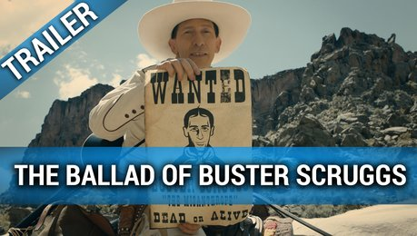 The Ballad of Buster Scruggs - Trailer Deutsch Poster