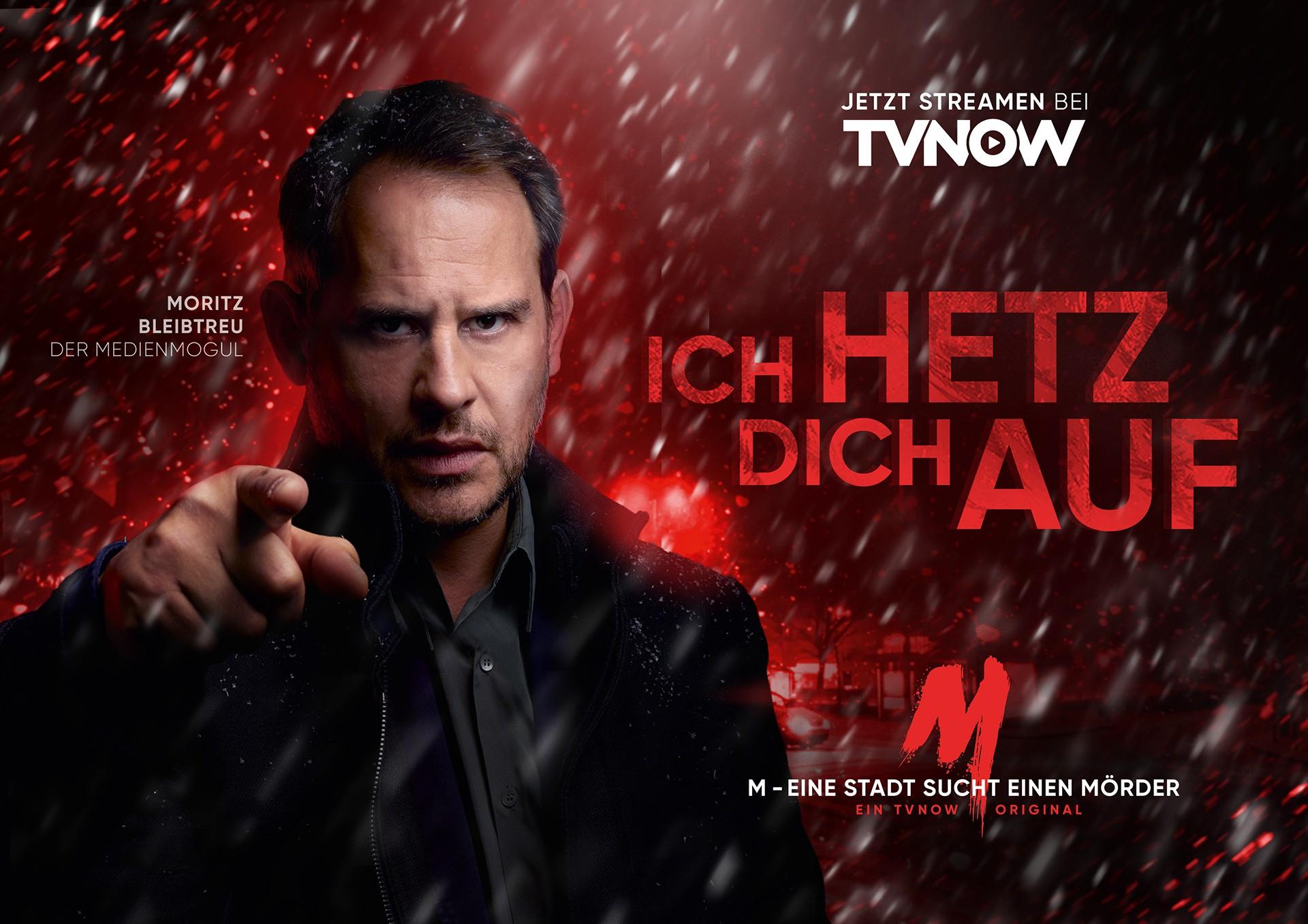 """Moritz Bleibtreu in """"M - Eine Stadt sucht einen Mörder"""""""