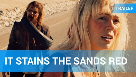 It Stains the Sands Red - Trailer Deutsch Poster