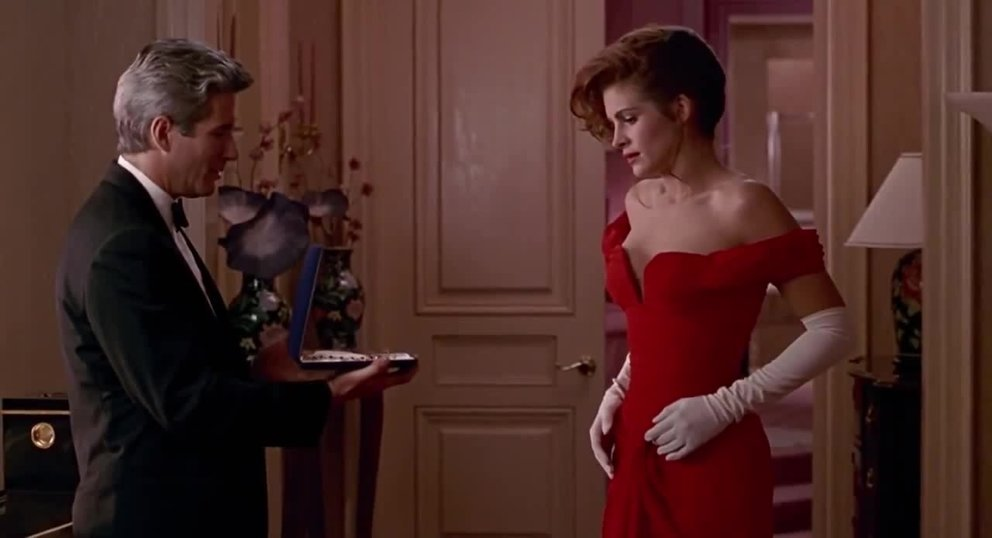 Pretty Woman Richard Gere Julia Roberts Schmuck Diamanten Halskette Juwelen