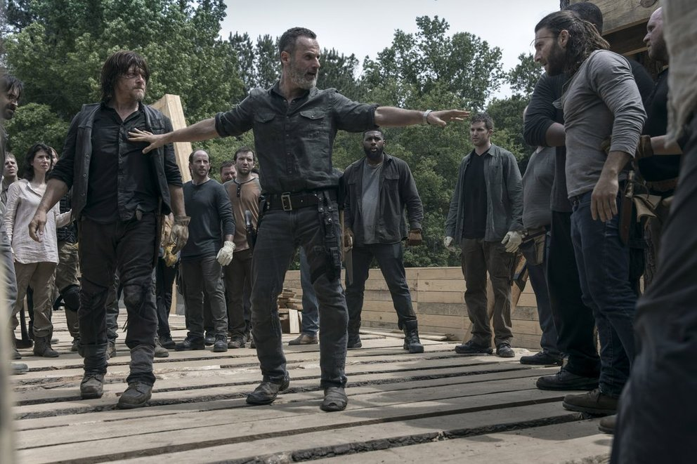 The Walking Dead Staffel 9 Folge 2 Quote Die Brücke Rick Daryl